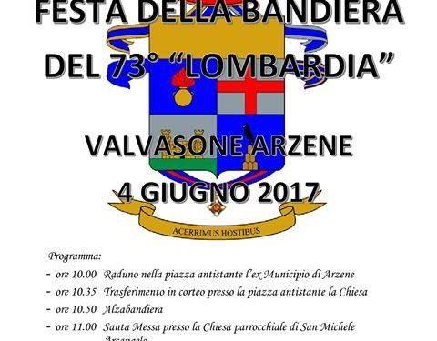 Festa della Bandiera del 73° Lombardia
